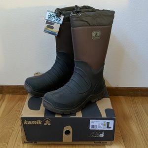 Kamik Coldcreek Boots Winter/Waterproof Olive NEW